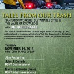 Tales from the Trash event flyer