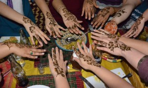 The end of program celebration in Morocco was filled with traditional Moroccan art in the form of henna, food, and live music. Many were students were excited to return to the States with henna tattoos—a temporary symbolic imprint of the lasting impact of their cultural experience.